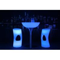 Best 20 Colors LED Lit Furniture 8-10 Hours Run Time AC Plug LED Lounge Furniture wholesale