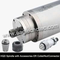 China Water Cooled Spindle Motor HQD 2.2kw 3.2kw 4.5kw 5.5kw for CNC Router on sale