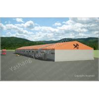 Quality Orange Color Warehouse Temporary Storage Shelters Huge Tent Rentals Eco Friendly wholesale