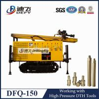 Buy cheap DFQ-150 pneumatic DTH borehole rock drilling machine rigs for water well from wholesalers