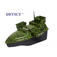 Best Radio Controlled Bait Boat DEVC-208 camouflage remote frequency 2.4GHz wholesale
