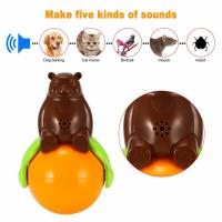 Cheap 4.2v Cute Pet Toys Sound And Light Ball Lr44 Battery Five Kinds Of Sounds for sale