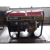 Best 2KW Red Portable Silent Power Generators With Electric Start And Hand Start System wholesale