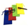 Best recycled microfiber eyeglasses drawstring bags custom logo promotional drawstring pouch wholesale