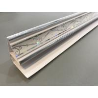 Best Customized Top Cornice Plastic Corner Profile White With 5.95m Shining Part wholesale