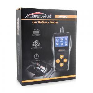 Best Black Color 12v Car Battery Voltage Meter KONNWEI KW600 With 1 Year Warranty wholesale
