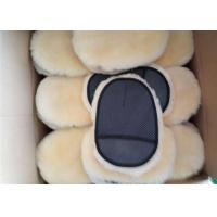 Best Sheepskin Car Wash Mitt Single Side Lambs Wool Car Detailing Polishing Glove wholesale