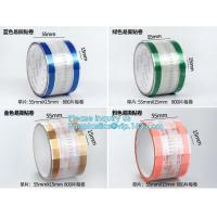 Best Easy Tearing Remove Masking Tape Seal Drinks And Bags,Easy TAPE OPP Tape food packaging tape coffee cup sealing label wholesale