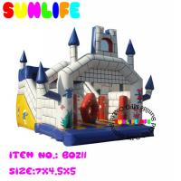 China Amusement Park Jumping Castle Inflatable Bouncy Slide For Children on sale