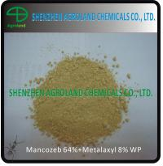 Best WP WDG Mixtured Fungicides Mancozeb 64% Metalaxyl 8% for Plants wholesale
