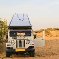 Buy cheap 4wd Triangular Car Camping Tent from wholesalers
