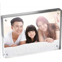 Best A4 Perspex Frame Transparent Acrylic Block Photo Frame wholesale