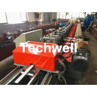 Best 39 / 42 / 45 / 55 / 65 / 77mm PU Foam Roller Shutter Door Slat Roll Forming Machine With Servo Flying Saw Cutting wholesale