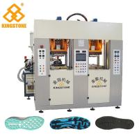 Best Static Type Double Stations TPR Sole Making Machines Two Injector 70-100 Pairs Per Hour wholesale