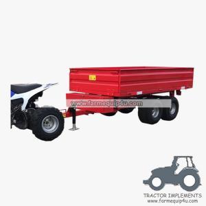 Best 2TR4WM - Euro style Off-road hydraulic dump trailer with power unit 2Ton wholesale