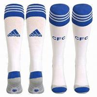 Best Home socks for soccer with Turnover top and Underfoot cushion on sole wholesale