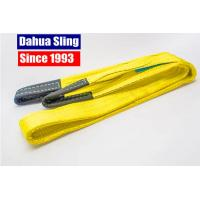 Best High Tensile Polyester Flat Lifting Sling Rigging Lifting Strap With Safety Factor 6:1 wholesale