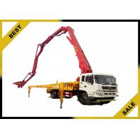 High Performance Truck Mounted Concrete Pump Open Hydraulic Boom Overload Protection