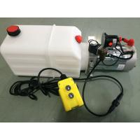 Best mini Hydraulic Power Packs 12V DC 1.6kw with 8L plastic tank max pressure 210bar wholesale