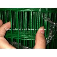 China Hot Dipped Green Wire Fencing Roll , Iron Welded Wire Livestock Panels on sale
