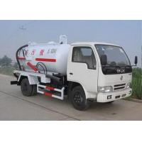 Best 6.5L Energy Saving Special Purpose Vehicles , Suction Truck For Noncorrosive Mucus Liquid wholesale