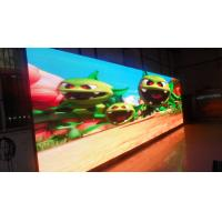 China High Brightness Advertising Display Screens , LED Outdoor Advertising Screens SMD2727 on sale