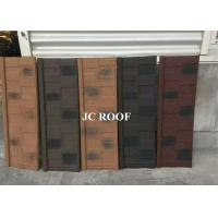 Best Aluminum-zinc Material and Bent Tiles Type shingle stone coated steel roof sheet wholesale