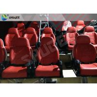 Cheap Medium Interactive 9D Cinema System Electric 9D Simulator With 30 Motion 9D Chairs for sale