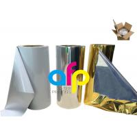 Best Various Color Metalized Polyester Film For Lamination 180 - 1300mm Roll Width wholesale