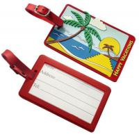 Quality Personalized Pvc. rubber, silicone, plastic luggage bag tags accessories wholesale