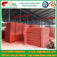 Best 100M CFB Boiler Superheater Petrochemical Natural Gas Industry Boiler Spare Part wholesale