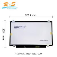 Best IPS Touch Screen LCD Display 14.0 Inch Edp Interface Hard Coating For B140HAK01.1 wholesale