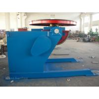 China Pipe Horizontal Floor Welding Turntable Positioner 3 Ton , Rotating 360° on sale