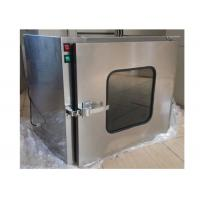 Best Small Stainless Steel 201 Dynamic Cleanroom Through Pass Box For Laboratory wholesale