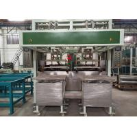 Buy cheap Auto Pulp Mould Industrial Package Making Machine Two Stations 100~150 kg/h from wholesalers