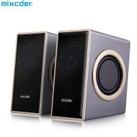 Best Mixcder Portable Wired Slip-Proof Surround Sound USB 2.0 Multimedia Speaker With Bass for Computer PC Laptop Desktop wholesale