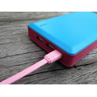 Cheap High Capacity 13200mah Portable Power Bank For Mobile Devices , Dual USB Power Bank for sale