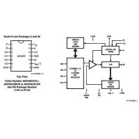 details of adc0833ccn 8 pin ic chip integrated circuit chip 8 o a  d converter with