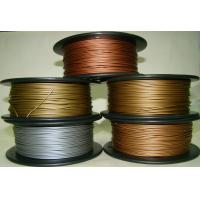 Aluminum Copper Bronze Red Copper Brass 3d Printer Filament 1.75mm Good Gloss