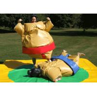 Best Adult Size Sumo Fighting Suits , Sumo Suit Costume No Pungent Smell PVC Tarpaulin wholesale