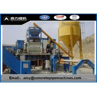 XZ Series Cement Pipe Making Machine , Concrete Pipe Products Easy Operate
