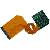 High performance double sided Flex Rigid Immersion gold PCB