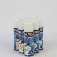 Best Crazy Color PP Cap Tinplate Can 200ml Party Snow Spray wholesale