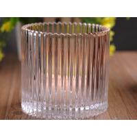 Best 530Ml Personalized Glass Candle Holders For Table , Eco Friendly wholesale