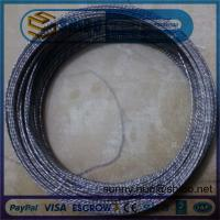 China 0.76mm Twisted Tungsten Wire in Making Coiled and Filaments on sale