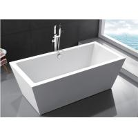 Cheap Durable Small Bathroom Freestanding Tub 60 Inch Soaking Tub Multiple Colors for sale