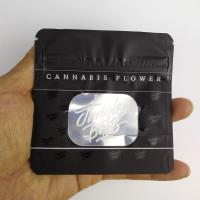 Best 3.5g Jungle Boys Smell Proof  Plastic Herb Bags For Flowers Flavors Black wholesale