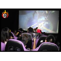 Best Funny 5d movie theater with Gun Shooting Game , 5D Game Machine LED 19 inches wholesale