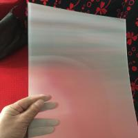 Best 75LPI 51cmx71cm PET lenticular lens sheet for injekt print and uv print with good Lenticular Printing Effect wholesale