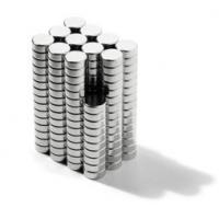 Best 500 PCS 5 x 1 mm Bulk Small Round Disc Magnets Powerful Craft NdFeB Magnet N35 wholesale